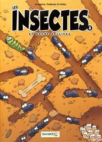 LES INSECTES EN BD T03
