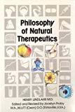 Natural Therapeutics: Philosophy v. 1