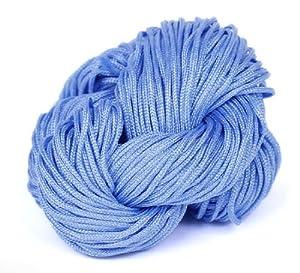 EOZY Un Líe Cuerda De Nylón Cinta Para Trenzada Nudo China 1mm*27m Azul De Cielo   Comentarios y más información