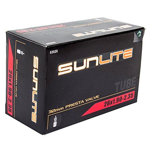 Sunlite Standard Presta Valve Tubes, 26 x 1.90 - 2.35