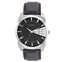Laurels Analog Black Dial Men's Watch - Lo-Inc-202