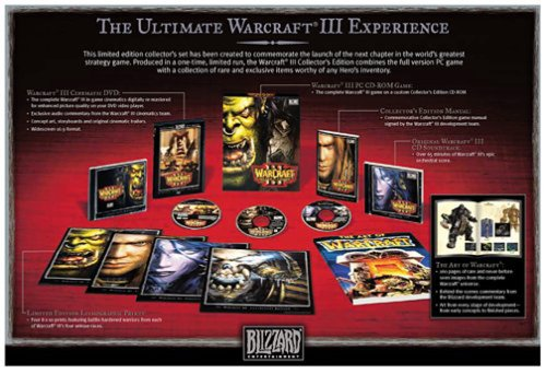 Warcraft III: Reign of Chaos Collectors Edition