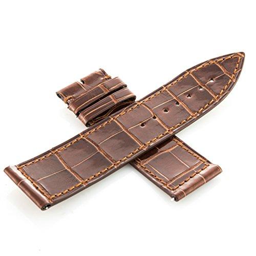 franck-muller-26c-22-22-mm-genuine-brown-alligator-leather-mens-watch-band