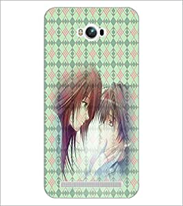 PrintDhaba Couple D-4500 Back Case Cover for ASUS ZENFONE MAX ZC550KL (2016) (Multi-Coloured)