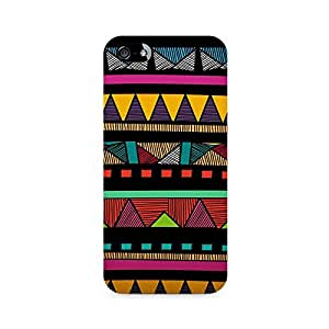 Rayite Crazy Absract Geometry Premium Printed Case For Apple iPhone 5/5s