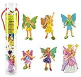 Safari Ltd Fairy Fantasies Toy Figurine TOOB, Including 6 Winged Fairies (Discontinued by manufacturer)