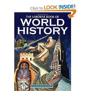 The Usborne Book of World History (Usborne Miniature Editions) Anne Millard and Patricia Vanags