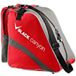 Black Canyon Skischuhtasche rot