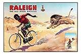 Raleigh vélos Poster,