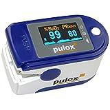 """Pulsoximeter PULOX PO-200 SPO2 Pulsoximeter mit OLED Farbdisplay und Zubeh�rvon """"PULOX"""""""