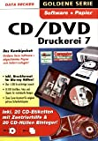 Data Becker CD/DVD Druckerei 7 - Etiqueta autoadhesiva (Blanco, Caja) , color: White