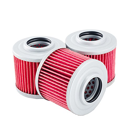 3 Pack Oil Filters for Can-Am Renegade 500 800 1000 EFI X Xxc (Can Am Renegade 500 Oil Filter compare prices)