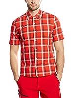Mammut Camisa Hombre Zermatt (Rojo Intenso)