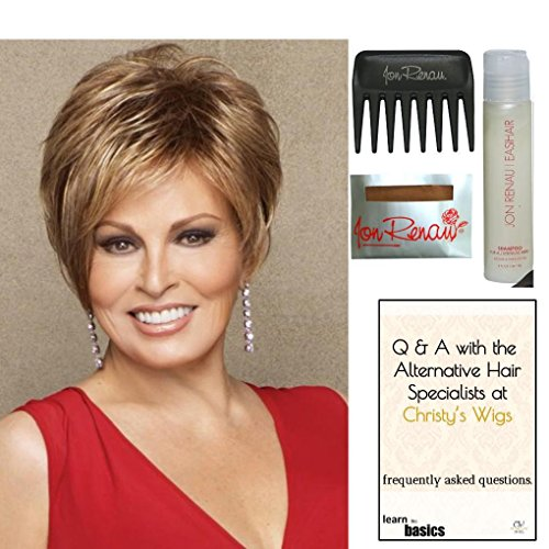 Bundle - 5 items: Cinch by Raquel Welch Wig, Christy's Wigs Q & A Booklet, Wig Shampoo, Wig Cap & Wide Tooth Comb from Raquel Welch