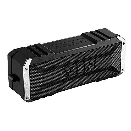 Vtin Punker Altavoz Bluetooth Estéreo Premium 20W Con Radiador Pasivo, Altavoz inalámbrico portátil con 25 HORAS de Emisión Continua para HuaWei, XiaoMi,, Nexus, HTC, iPhone y iPad, etc.