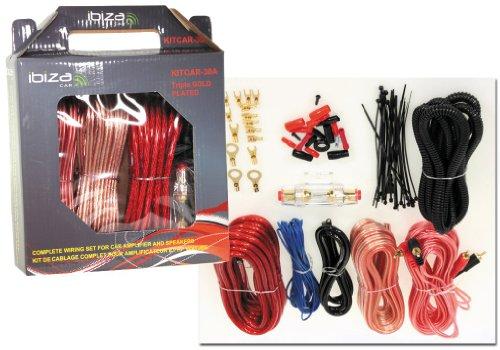 KFZ Auto Car-Hifi Kabel-Set für Verstärker