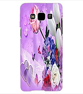 ColourCraft Beautiufl Flowers Bouquet Design Back Case Cover for SAMSUNG GALAXY A3