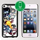 New for Fairy Tail Manga Apple iPod Touch iTouch 5th Generation (32GB or 64GB) Hard Plastic cases (#14 Black)