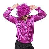 70年代ディスコ調 ディスコシャツ メンズダンス衣装 コスプレ衣装 コスチューム仮装 ハロウィン・パーティー・クリスマス・学園祭・お祭り・イベント・文化祭・イベント用 多色選択
