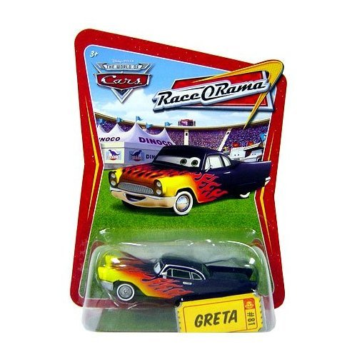 Disney / Pixar CARS Movie 1:55 Die Cast Car Series 4 Race-O-Rama Greta by Mattel