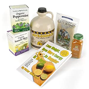 Peter Glickman  Inc. Master Cleanse 10-day Organic Kit with Free Mc Book  64-Ounce