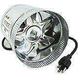 """VenTech VT DF-6 DF6 Duct Fan, 240 CFM, 6"""""""