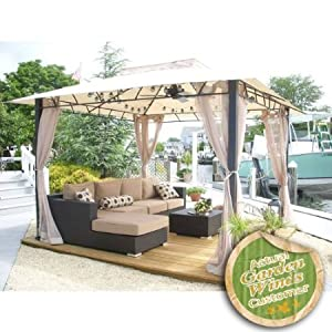 Replacement Canopy For Target Wellington Gazebo by Garden Winds