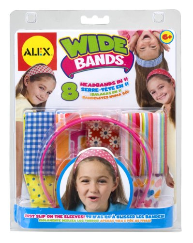 ALEX Toys Do-it-Yourself Wear Wide Bands Headbands