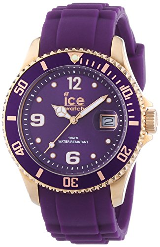 Ice-Watch Is.Per.U.S.13 Purple Rose Gold Ice-Style Watch