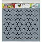 Crafters Workshop Fireworks Crafter's Workshop Template, 12-Inch by 12-Inch