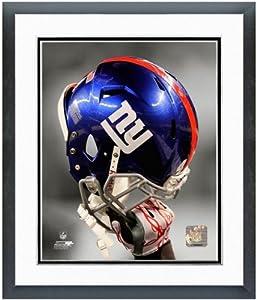 New York Giants Helmet Spotlight Photo (Size: 12.5 x 15.5) Framed by NFL