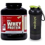 Medisys 100% Whey Protein - Vanilla - 2Kg(Free Shaker)
