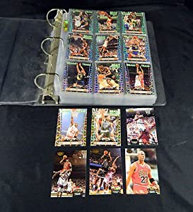 # 1992/93 Stadium Club Members Only Basketball Set with Beam Team Set in Binder - NBA Basketball Cards