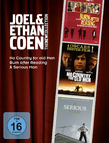 Joel & Ethan Coen - The New Collection (Burn After Reading, No Country For Old Men, A Serious Man) [3 DVDs]