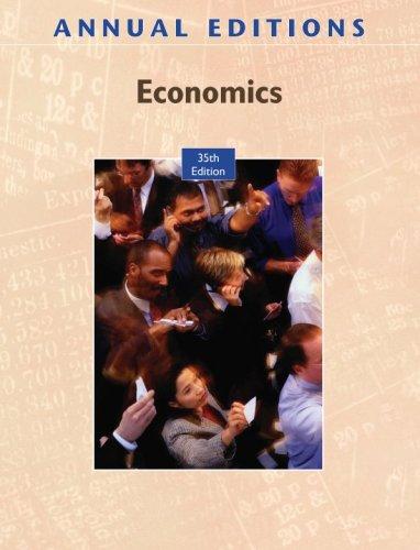 Annual Editions: Economics, 35/e