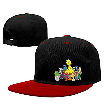 Man's Cartoon Muppet Sesame Street Contrast Color Trucker Hats
