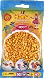 Hama Perlen 207-60 - Perlenbeutel 1000 Stück Teddy-Farbe von DAN Import