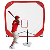 Spring Away Tee and 7' X 7' Pop Up Net by Heater Sports