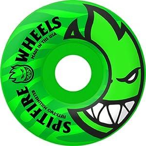 Buy Spitfire Bighead Tonal 51mm Neon Green Skateboard Wheels (Set of 4) by Spitfire