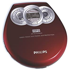 philips exp 320 lecteur cd portable high tech. Black Bedroom Furniture Sets. Home Design Ideas