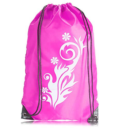 onex-premium-gymsac-drawstring-gym-bag-rucksack-pink