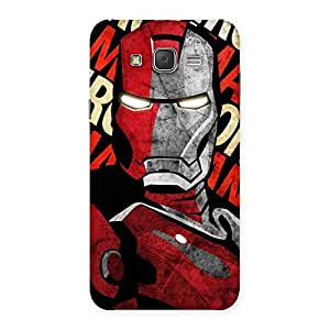 Stylish Introduction Man Back Case Cover for Galaxy J7