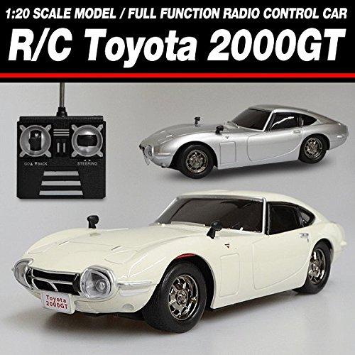 R/C  トヨタ 2000GT  1/20 TOYOTA クラシック ラジコン ( ノスタルジック 豊田 旧車 RC ミニカー )  カラー : サンダーシルバーメタリック