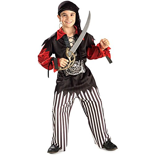 Sea Captain Pirate Kids Costume