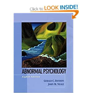 case studies for teaching abnormal psychology He has received the president's award for distinguished teaching at princeton psychology around us (2nd edition), and case studies in abnormal psychology.