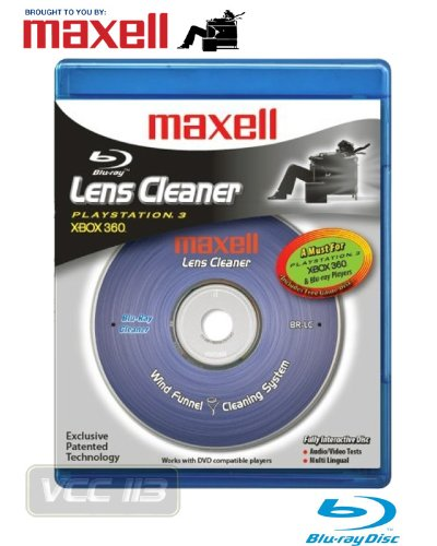 Maxell Br-Lc Blu-Ray Lens Cleaner For Ps3 (190054)