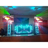 LED Dj Rectangular Facade Dj Booth (4 panels)
