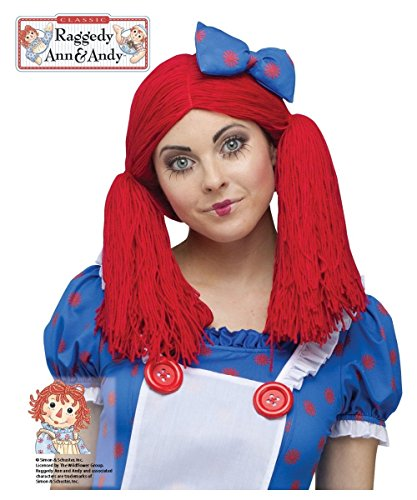 Raggedy Ann Womens Halloween Costume