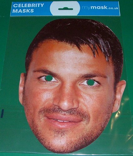 Peter Andre Celebrity Face Mask