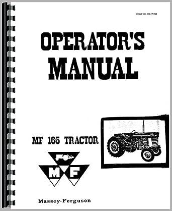 massey ferguson 165 tractor operators manual amazon com massey ferguson 165 service manual pdf free download massey ferguson 165 operators manual free